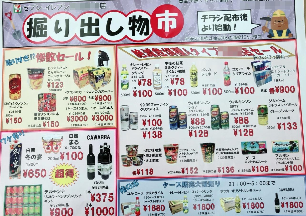 永尾副委員長のセブンイレブン、惨敗セール!